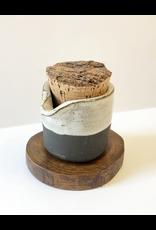 Thro Ceramics Cork Creamer