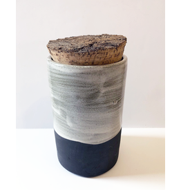 Thro Ceramics Cork Container