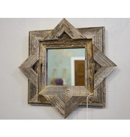 Devon-Made In Breckenridge Colorado Wood Star Mirror