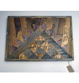 "Sweet Grass WoodWorks Rustic Wood Wall Art- 19"" W x 13"" H x 1'D"