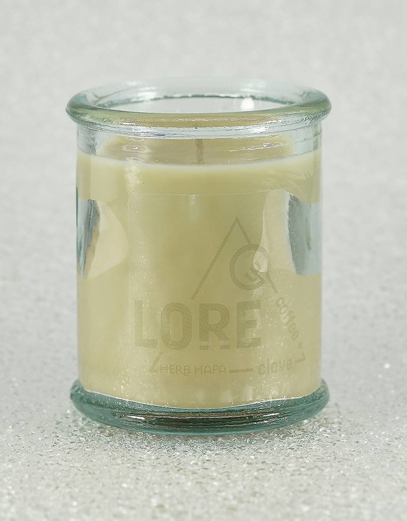 Herb Hapa Lore Coffee & Clove Candles-Personal Size 4oz