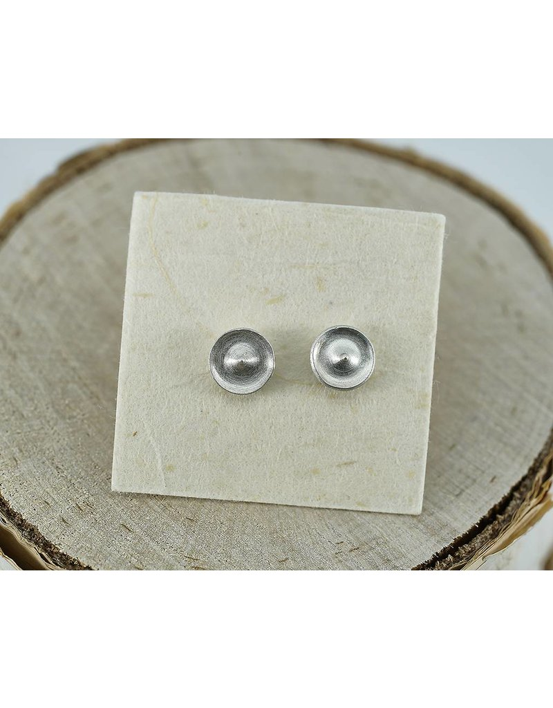 Judi Powers Jewelry Temple Studs Sterling Silver