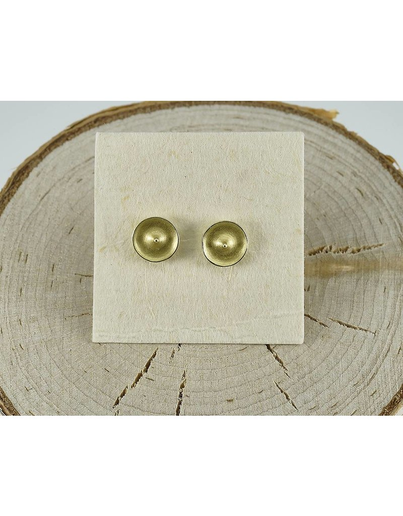 Judi Powers Jewelry Temple Studs-18k Gold