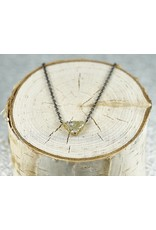 Sarah Graham Metalsmithings Trigon Necklace one Triangel Shape