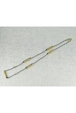 """Sarah Graham Metalsmithings Aspen 18"""" Long Necklacewith 5 Sticks"""