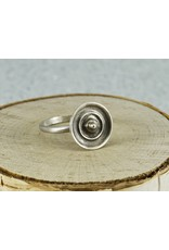 Judi Powers Jewelry Temple of Heaven Ring Stelring Silver Size 8