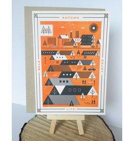 Holstee Autumn Card-5x7