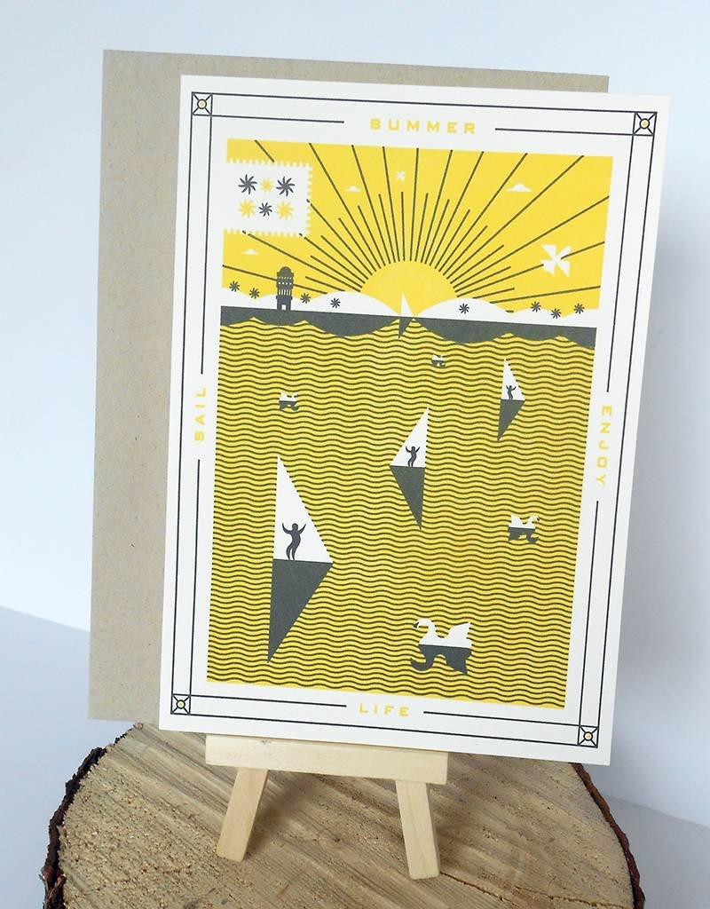Holstee Summer Card-5x7