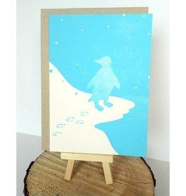 Holstee Penguin Card