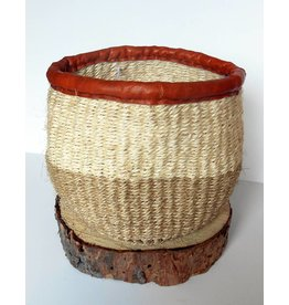 "Creative Women Planter 5""-White Sisal Basket"