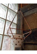 Devon-Made In Breckenridge Colorado Brass Planters with Pot-Hanging