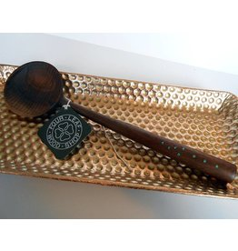 Four Leaf Wood Shop Walnut Turquoise Spoon #5