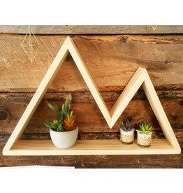 Jeff Pearson Mountain Wood Shelves-Small