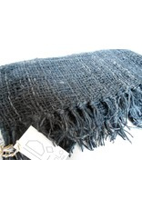 Creative Women Kenya Open Weave Shawl-Navy