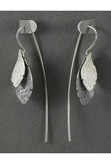 Jenny Reeves Double Leaf SM Sterling Silver