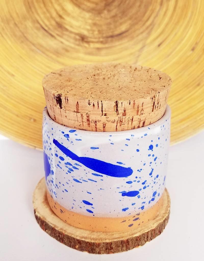 Settle Ceramics Salt Jar-Speckle