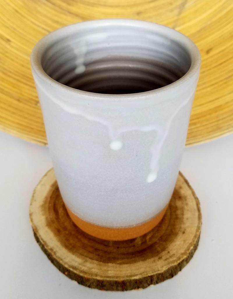 """Settle Ceramics Matte White 5""""Tumblers"""