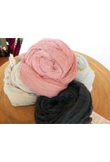 Scarf Shop Fine Organic Cotton Scarf Small-Sea Foam
