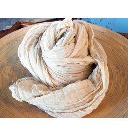 Scarf Shop Fine Organic Cotton Scarf Small-oatmeal