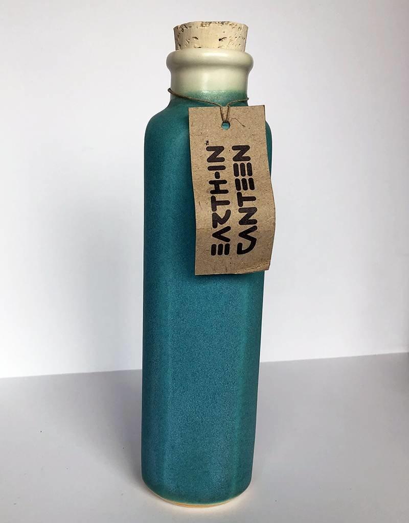 Earth-In 4 Corners 24oz Water Bottles-Sea Glass