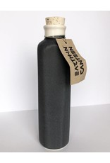 Earth-In 4 Corners 24oz Water Bottle-Charcoal