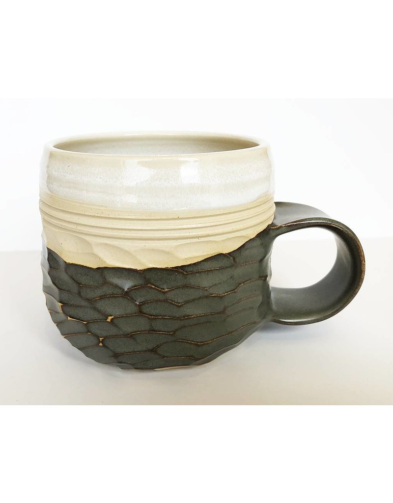 Unurth Ceramics Horizon Mug-Grey/Shino
