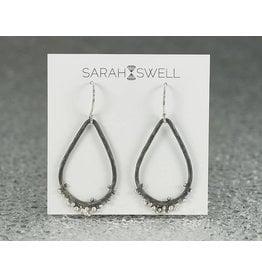 2f363949a Sarah Swell Jewelry Flotsam&JetsamTearDrop Earrings Sterling Silver-Oxidized