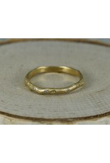 Sarah Swell Jewelry Bridal: Vine Diamond Band-18KY size 6.5