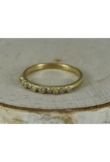 Sarah Swell Jewelry Bridal: Galaxy 18k with Diamonds Band-size 6