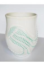 The Clay Cache Porcelain Jellyfish Mug