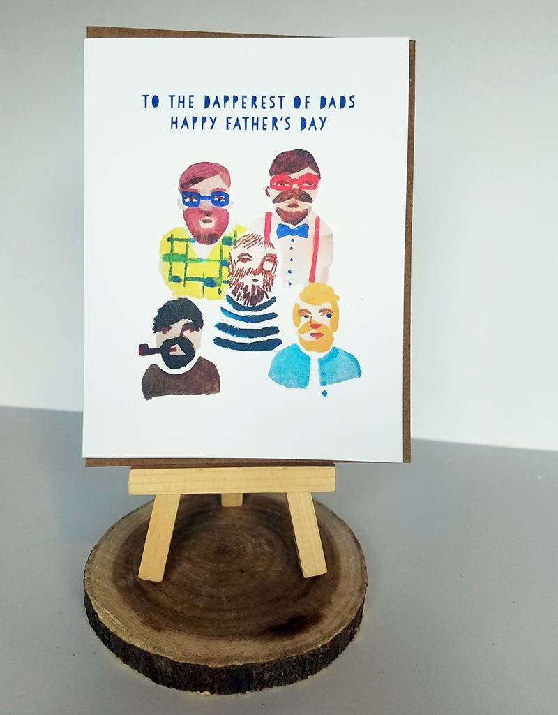 Ferme A Papier Dapperest of Dads Father's Day Cards
