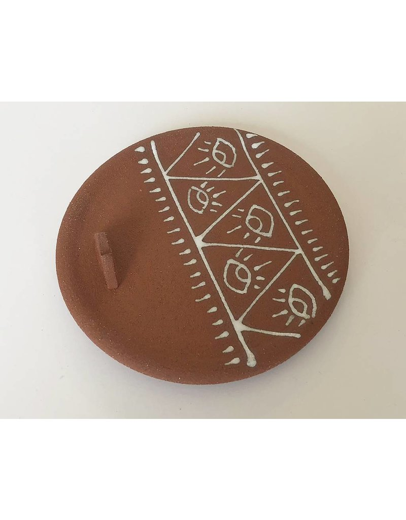 Gopi Shah Ceramics Palo Santo Holder-Eye