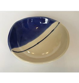 Gopi Shah Ceramics Catch All Bowl-Half Moon