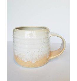 Unurth Ceramics Barnacle Mug-White Peach