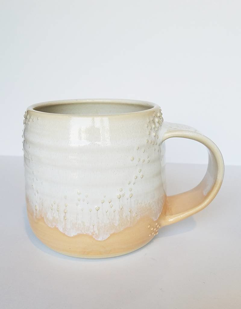 Unurth Ceramics Barnacle Mug-White Peach
