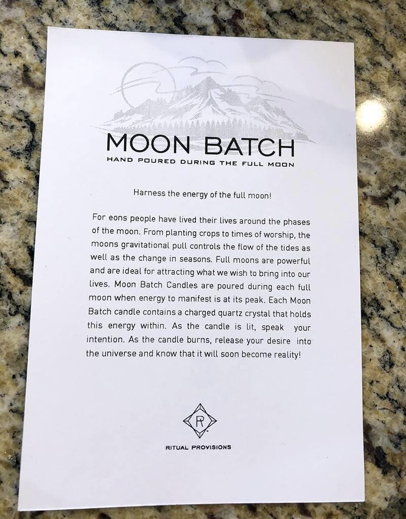 Ritual Provisions Matte Black-Artemis Blend-FLOWER MOON