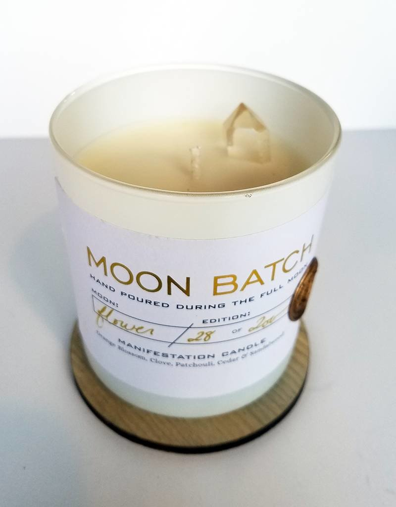 Ritual Provisions Matte White-Full MOON Blend-FLOWER MOON