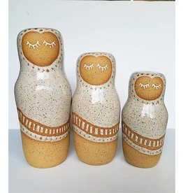 Gopi Shah Ceramics Clay Person-Speckled Cloak