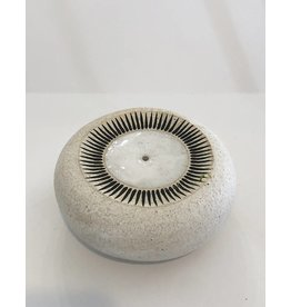 MQuan Studio Incense Burner-New Sun: White