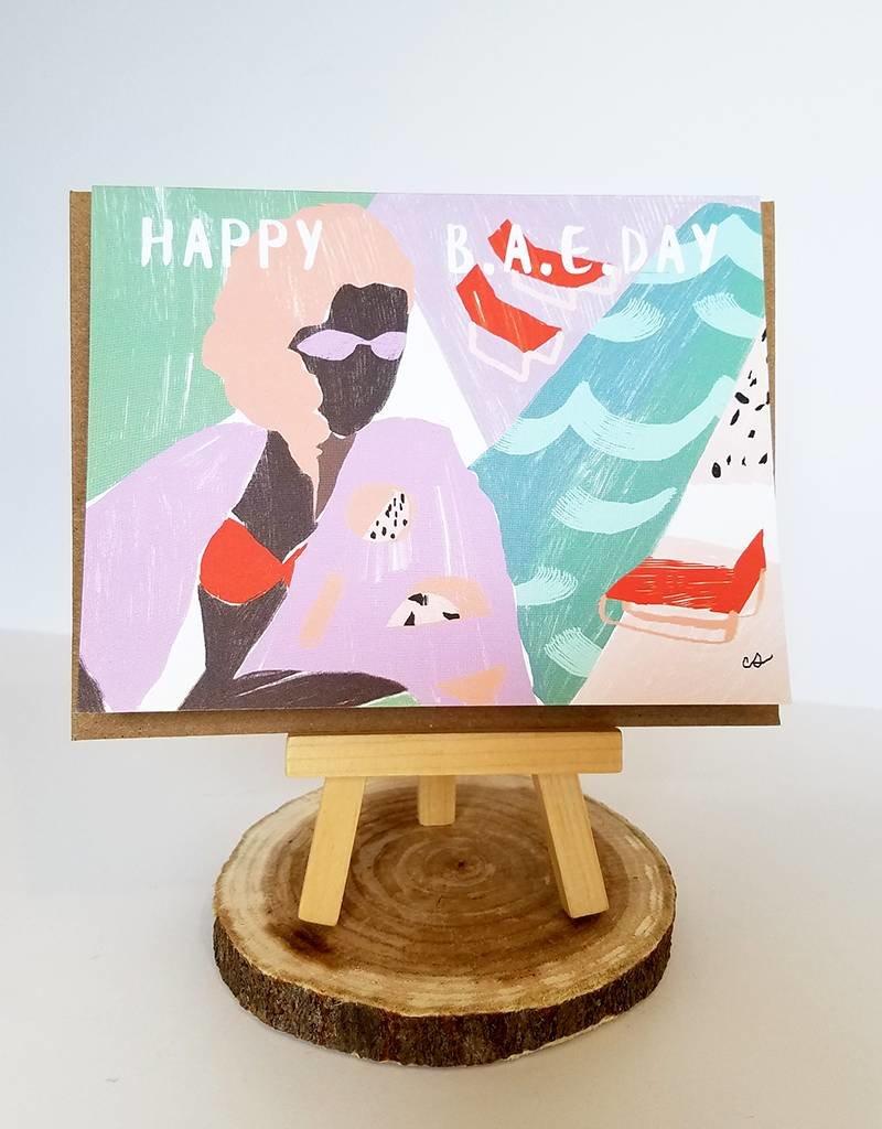 Ferme A Papier Happy Birthday BAE Card