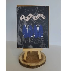 Ferme A Papier Two Suite Wedding Card