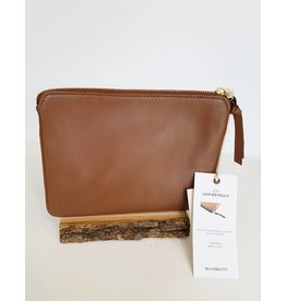 Bloom & Give Zoe Pouch-Tan