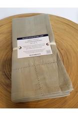 Bloom & Give Picot Handloomed Napkins-set of 4 Linen