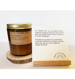 P.F Candle Co NO. 21 Golden Coast Candle