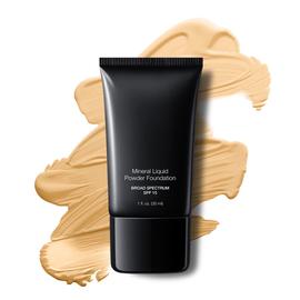 Foundation Vanilla Cream Liquid Mineral Powder Foundation