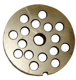"""Alfa Meat Grinder Plate #12 with 3/8"""" Holes"""