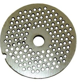 """Alfa Meat Grinder Plate #22  with 1/8"""" Holes"""
