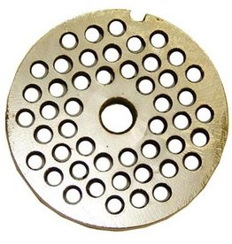 """Alfa Meat Grinder Plate #22 with 1/4"""" Holes"""