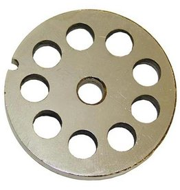 """Alfa Meat Grinder Plate #32 with  1/2"""" Holes"""