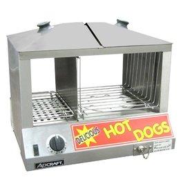 Adcraft Adcraft Hot Dog & Bun Steamer